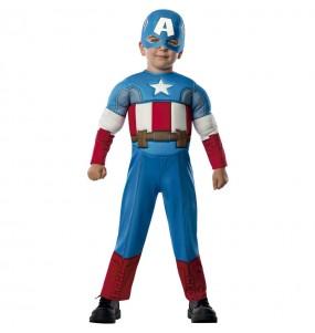 Déguisement Captain America Marvel bébé