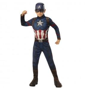 Déguisement Captain America Marvel garçon