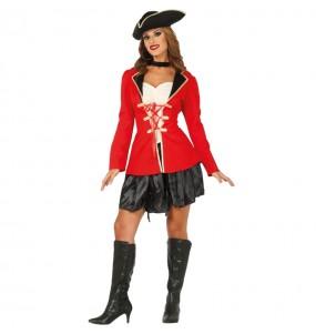 Déguisement Capitaine Crochet femme