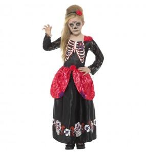 Déguisement Catrina squelette fille