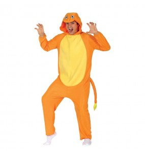 Déguisement Charmander Pokémon Kigurumi adulte