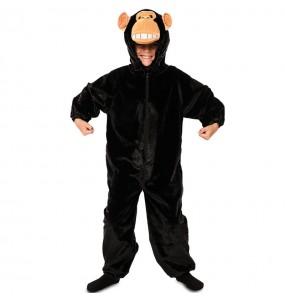 Déguisement Chimpanzé en peluche pour enfant
