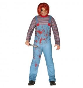 Déguisement Chucky la poupée sanglante homme