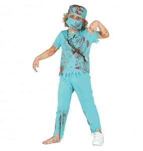 Déguisement Chirurgien Zombie garçon