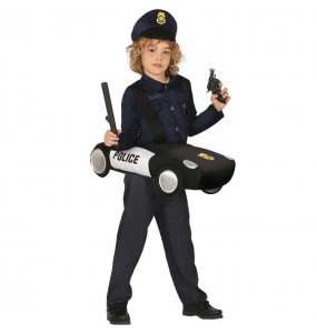 Déguisement Voiture de Police enfant