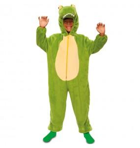 Déguisement Crocodile en peluche pour enfant