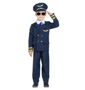 Déguisement Commandant de vol garçon