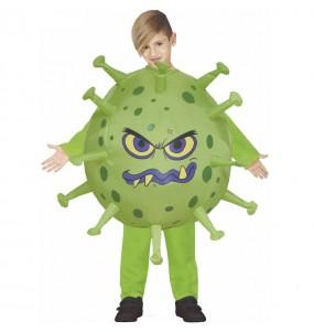Déguisement Coronavirus gonflable enfant