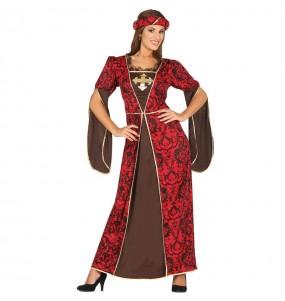 Déguisement Courtisane Médiévale pour femme