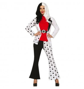 Déguisement Cruella de Vil 101 Dalmatiens femme