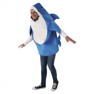 Déguisement Daddy Shark pour adulte