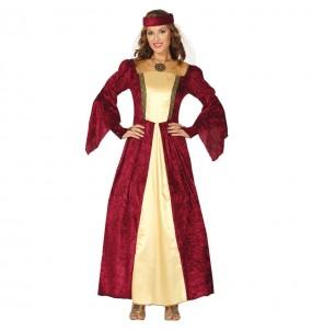 Déguisement Dame Médiévale élégante femme