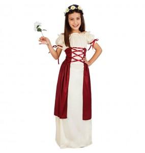 Déguisement Princesse Médiévale Gadea fille