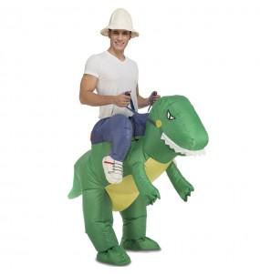 Déguisement Porte Moi Dinosaure adulte
