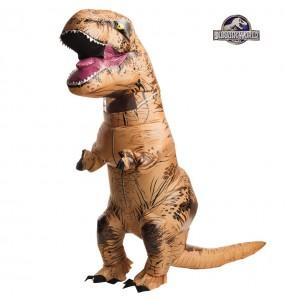 Déguisement Dinosaure T-Rex gonflable adulte