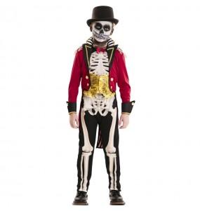 Déguisement Dompteur Squelette garçon