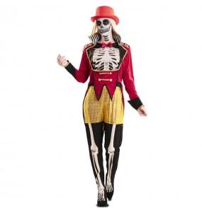 Déguisement Dompteuse squelette femme