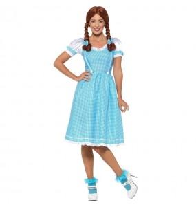 Déguisement Dorothy Magicien d'Oz femme