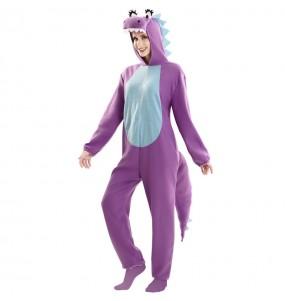 Déguisement Dragon violet femme