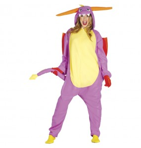 Déguisement Dragon Spyro Kigurumi adulte