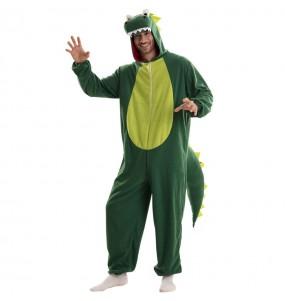 Déguisement Dragon Vert homme