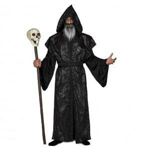 Déguisement druide Sombre homme