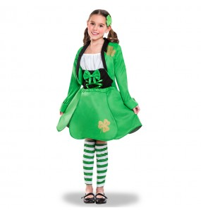 Déguisement Elfe Saint Patrick's pour fille