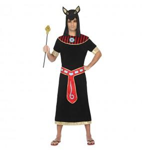 Déguisement Égyptien Anubis Noir pour homme