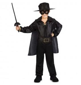 Déguisement Zorro masqué garçon