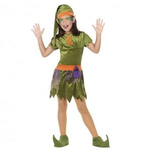 Déguisement Elfe des bois fille