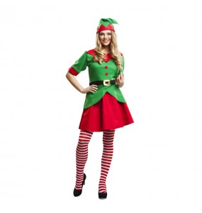 Déguisement Elfette Noël Adulte