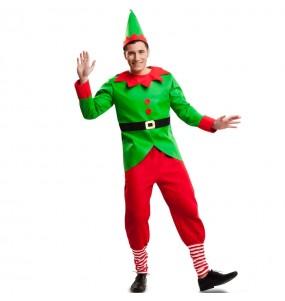 Déguisement Lutin Noël Adulte