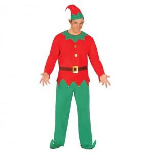 Déguisement Lutin Père Noël homme