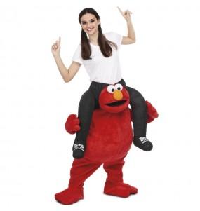 Déguisement Porte Moi Elmo adulte