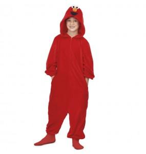 Déguisement Elmo Kigurumi pour enfant
