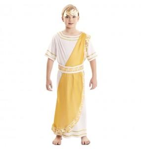 Déguisement Empereur Romain doré garçon