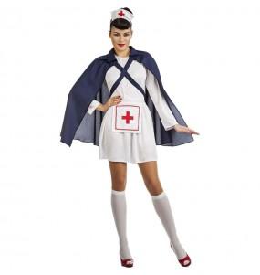 Déguisement Infirmière avec cape femme