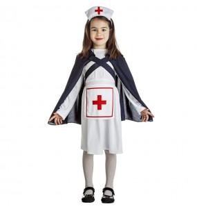 Déguisement Infirmière avec cape fille