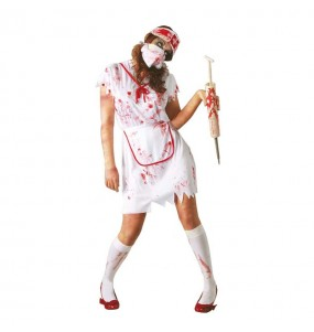 Déguisement Infirmière Sanglante Zombie Adulte