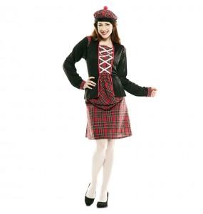 Déguisement Écossaise classique pour femme