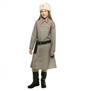 Déguisement Espionne Russe pour fille