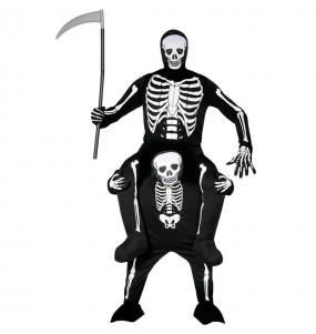Déguisement Porte Moi Squelette adulte