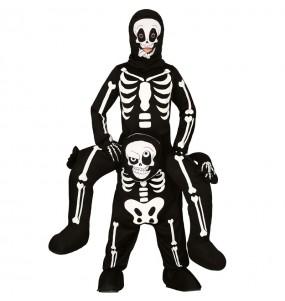 Déguisement Porte Moi Squelette enfant
