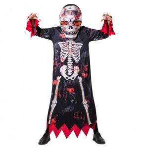 Déguisement Squelette Grosse Tête adulte
