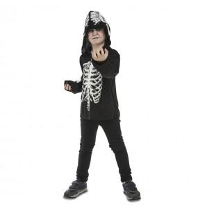 Déguisement Squelette Casual pour garçon