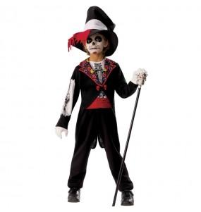 Déguisement Squelette Catrin garçon