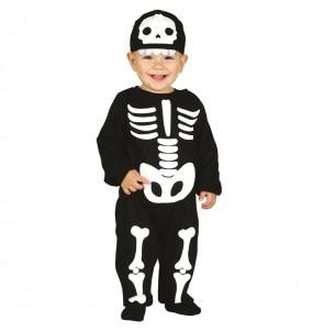 Déguisement Squelette classique bébé