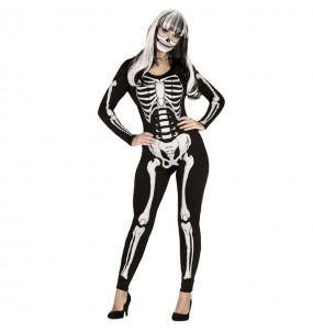 Déguisement Squelette des ténèbres femme