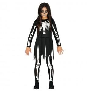 Déguisement Squelette des ténèbres fille