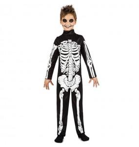 Déguisement Squelette des ténèbres garçon